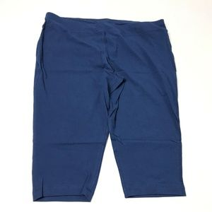 Athletic Works Women's Capri Pants Cotton Blend 2X